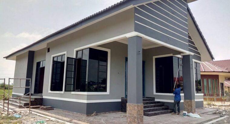 Pembinaan rumah baru dan ubah suai
