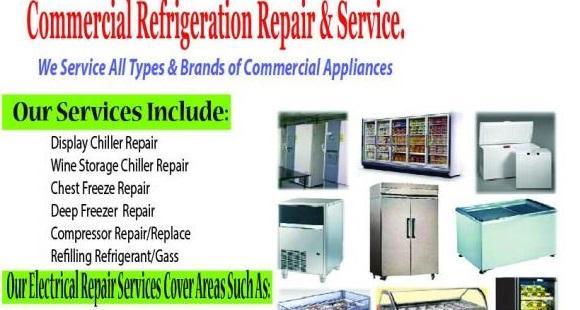 Repair Washing Machine,Fridge And Chiller Services