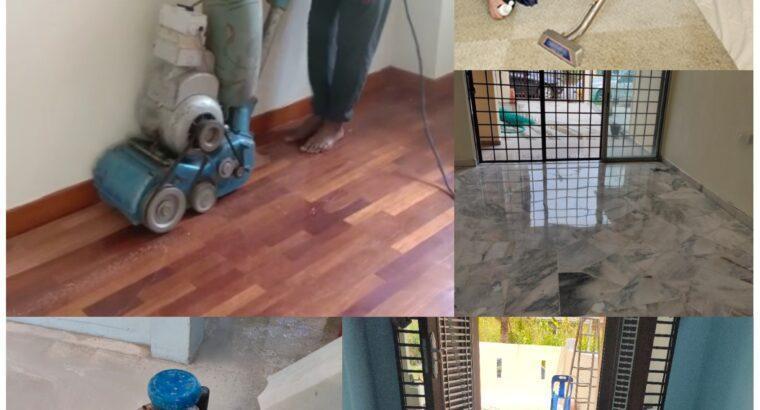 House Cleaning Polishing Marble Terrazzo Parquet Tiles Carpet sofa
